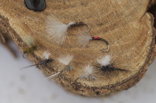 barbless river dry flies by Turrall