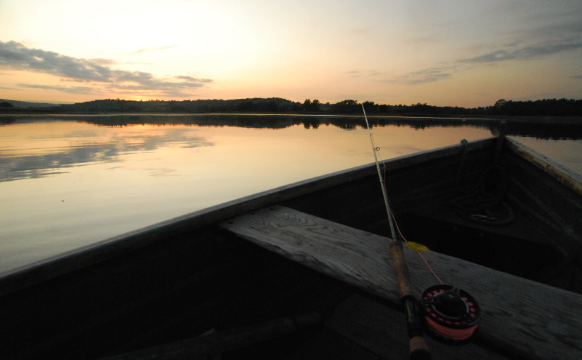 Chew valley fly fishing