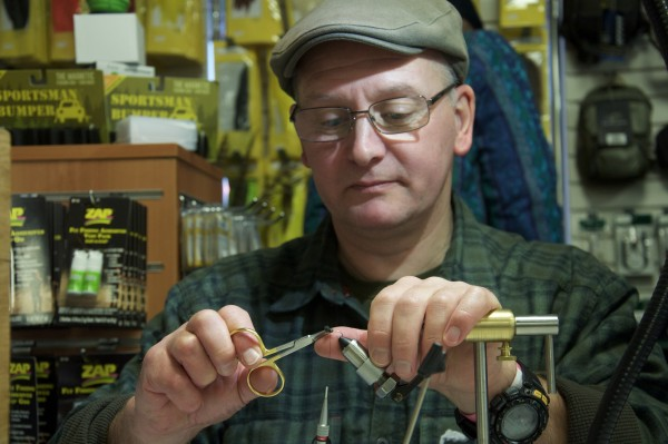 Gary Pearson British Fly Fair Fly tying
