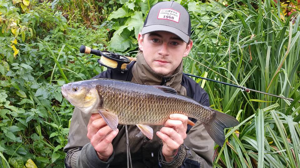 Fly fishing for chub Bobby Wright