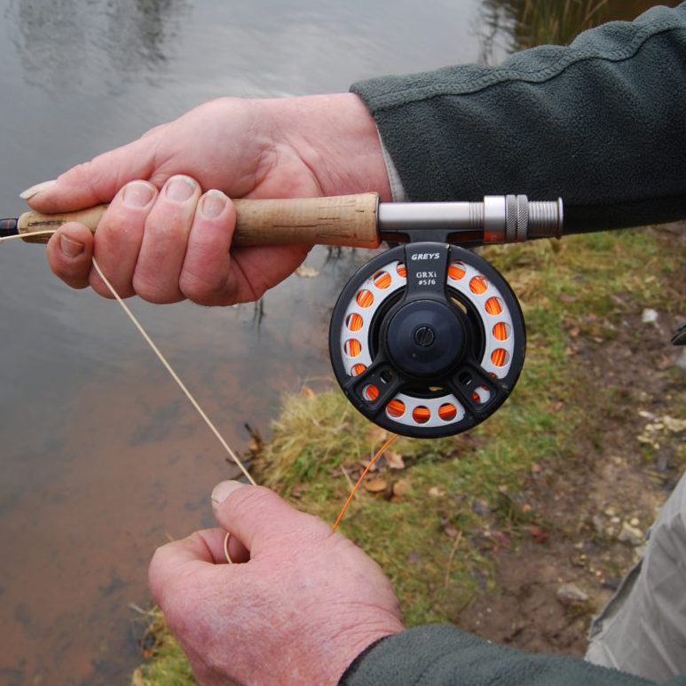 Fly fishing retrieve