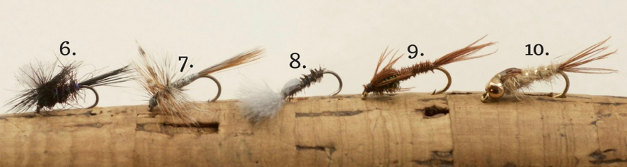 Top 5 River Flies Catch 22 flies