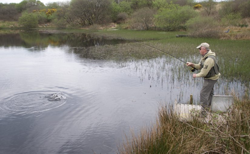 Temple Fishery fly fishing Cornwall