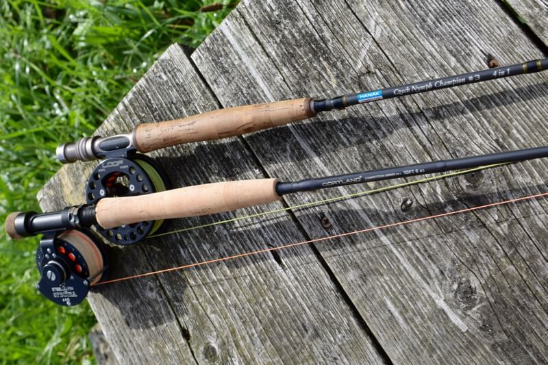 Fly rods for nymph fishing