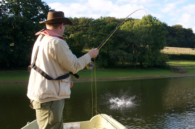 Early season fly fishing stillwaters UK