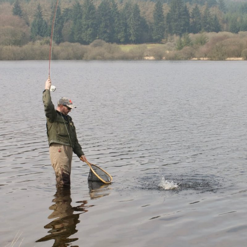 Dartmoor Reservoirs Fernworthy Fly fishing