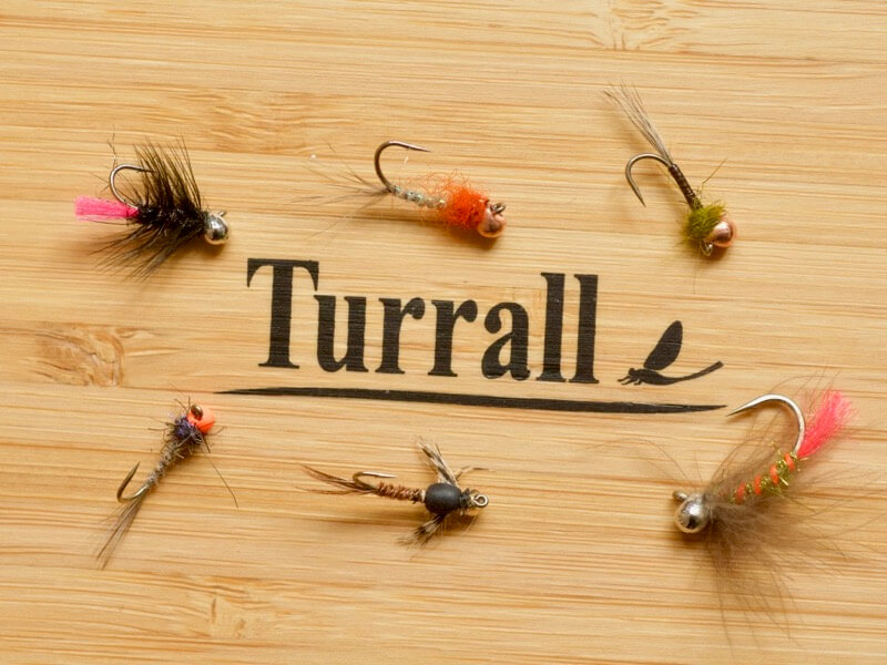 off bead nymphs jig Turrall