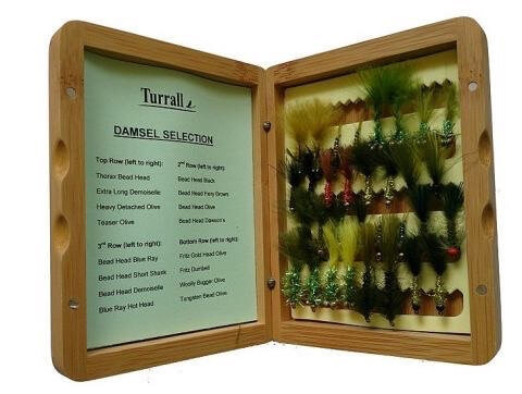 Fly Fishing christmas gifts cane fly box Bamboo turrall