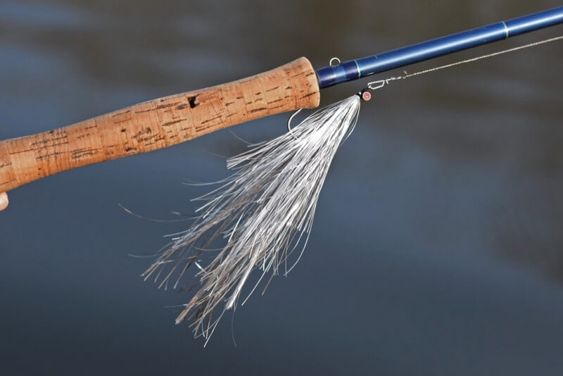 Turrall pike fly silver flasher